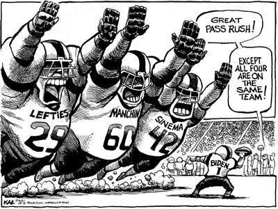 Editorial Cartoon: Tackle
