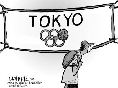 Editorial Cartoon: Olympics