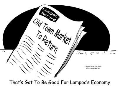 Editorial cartoon: Old Town Market