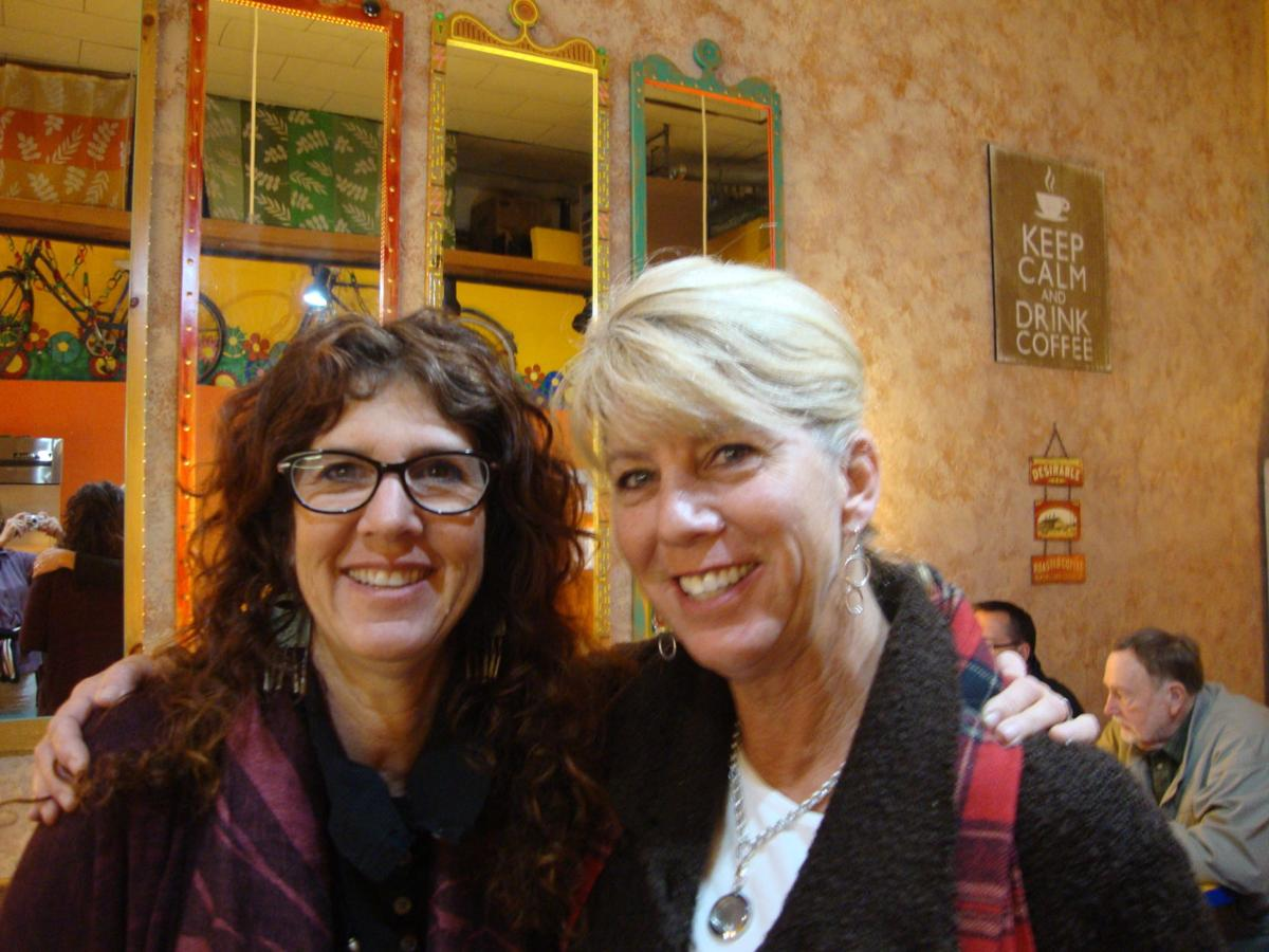 Julie Biolley and Stacy Lowthorp