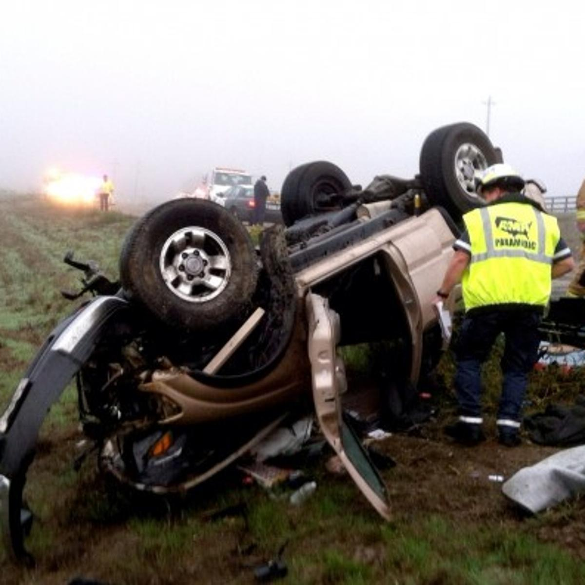 10 injured in 4-car collision on Highway 246   Local News