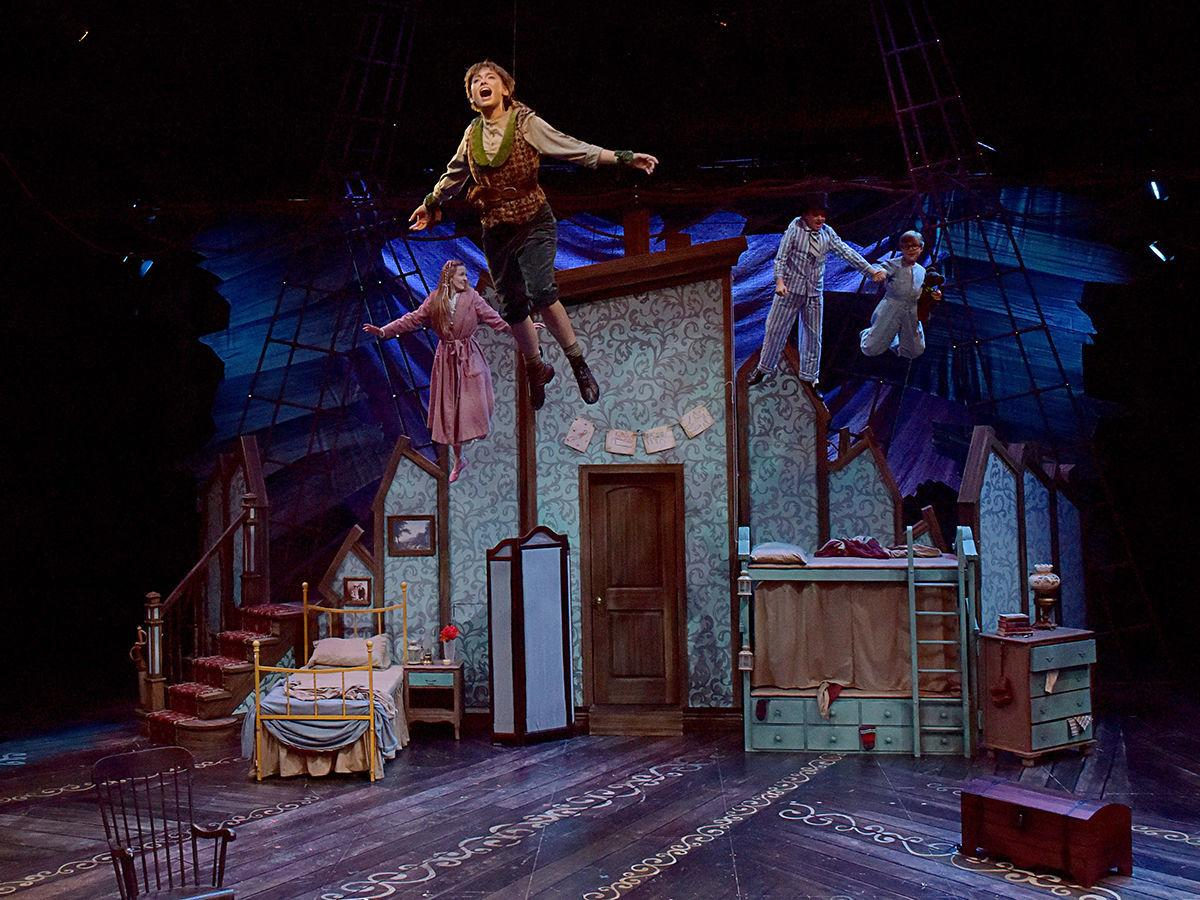 Theater Review Pcpas Peter Pan Is A Holiday Treat For The Whole Fox Body Wiring Harness On Stage