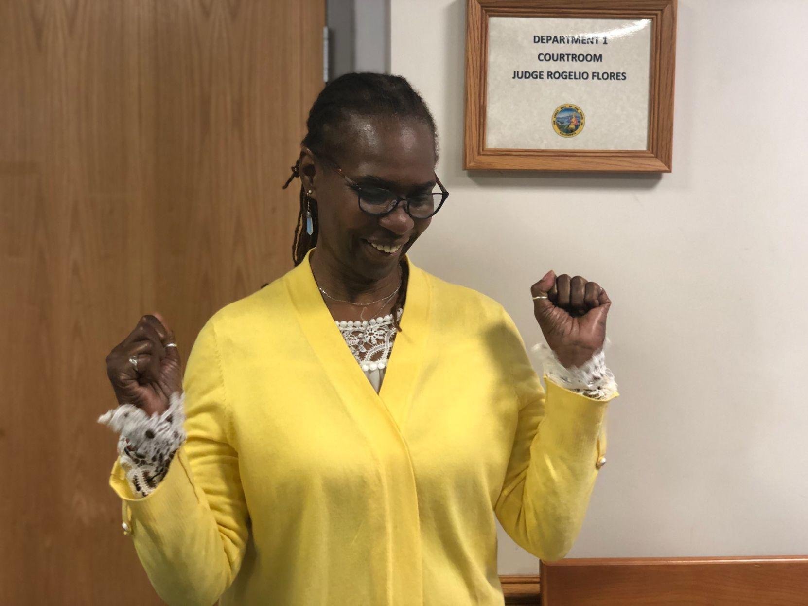 Judge declares Wanda Nelson an innocent woman