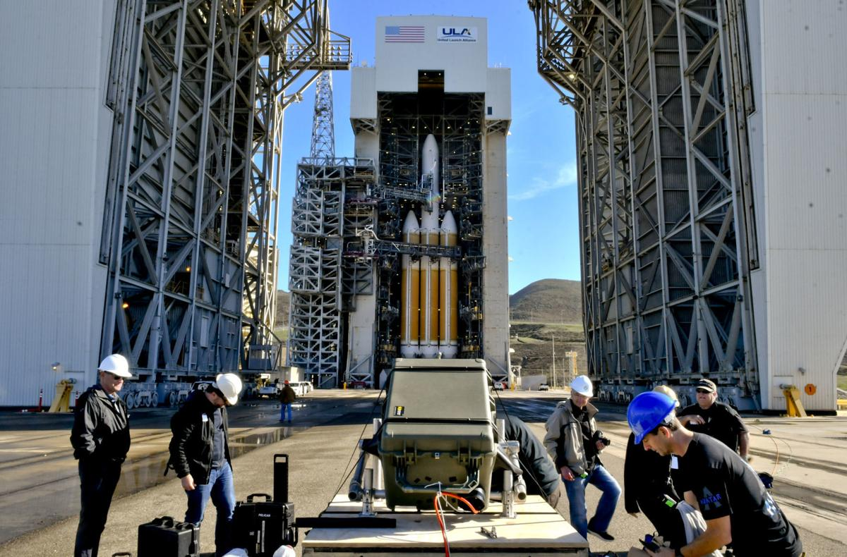 Delayed Again: Delta IV Heavy Rocket Launch From