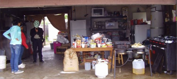 Illegal home kitchen operation in Santa Maria