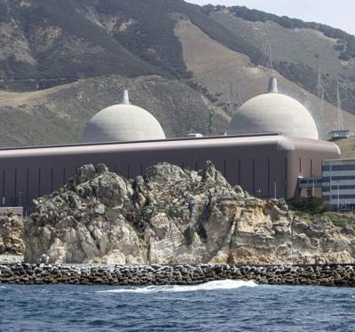 Diablo Canyon from the sea
