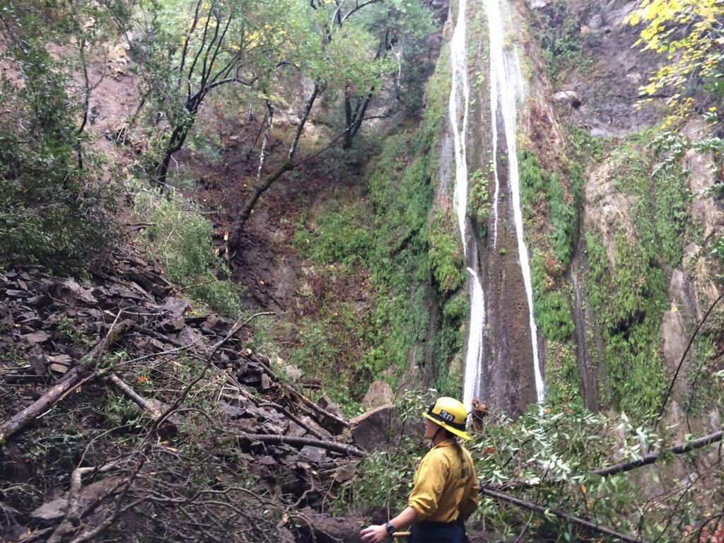 Nojoqui Falls Park landslide