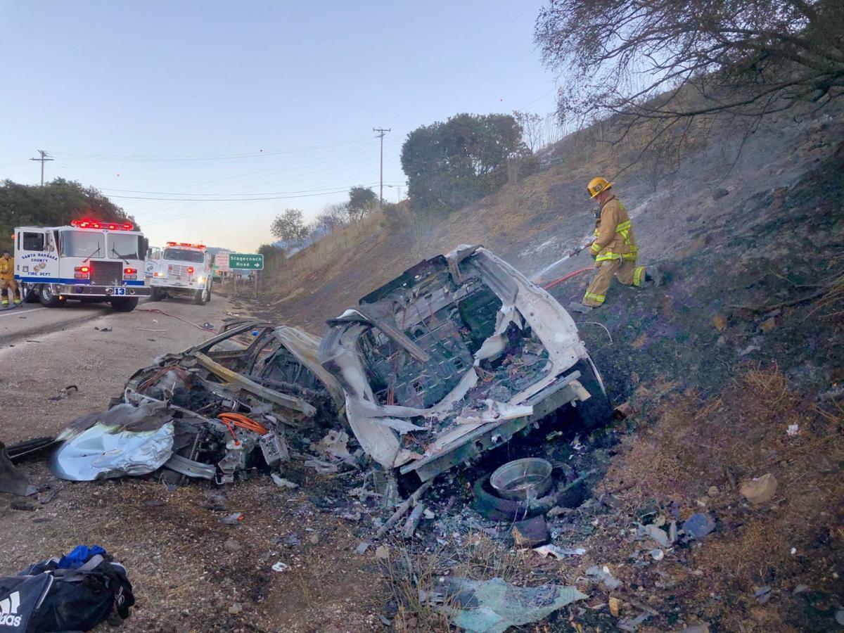 Highway 154 triple fatal crash, SUV and Volt