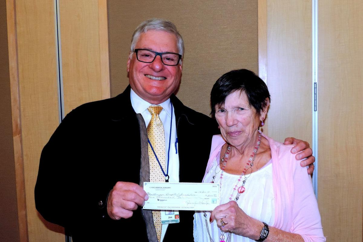 Auxiliary donates $5,000 to Lompoc Hospital District Foundation