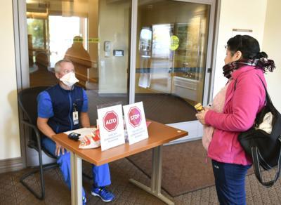 Lompoc Valley Medical Center coronavirus screening (copy)