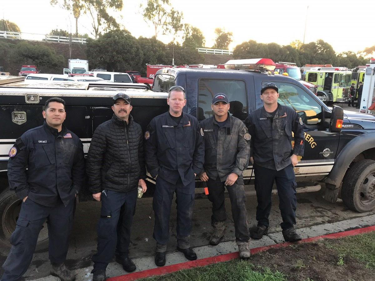 Vandenberg firefighters