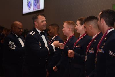 Airman Leadership School graduates