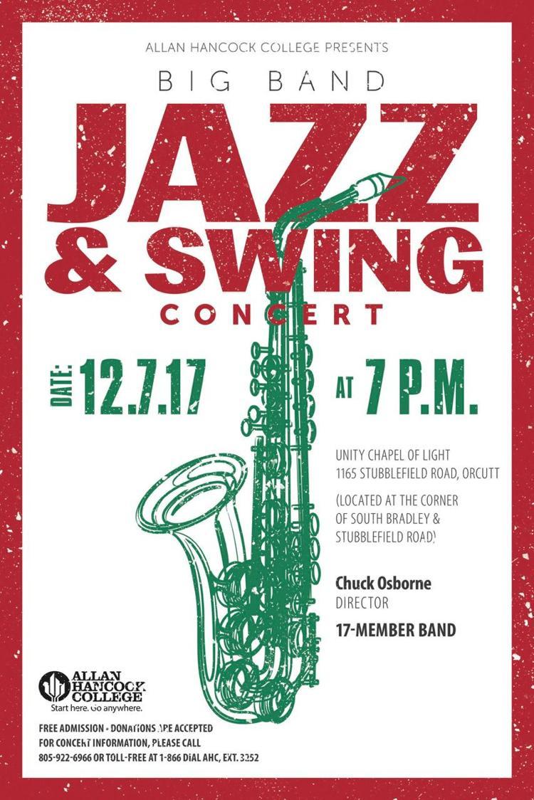Hancock Jazz Band - Winter Concert