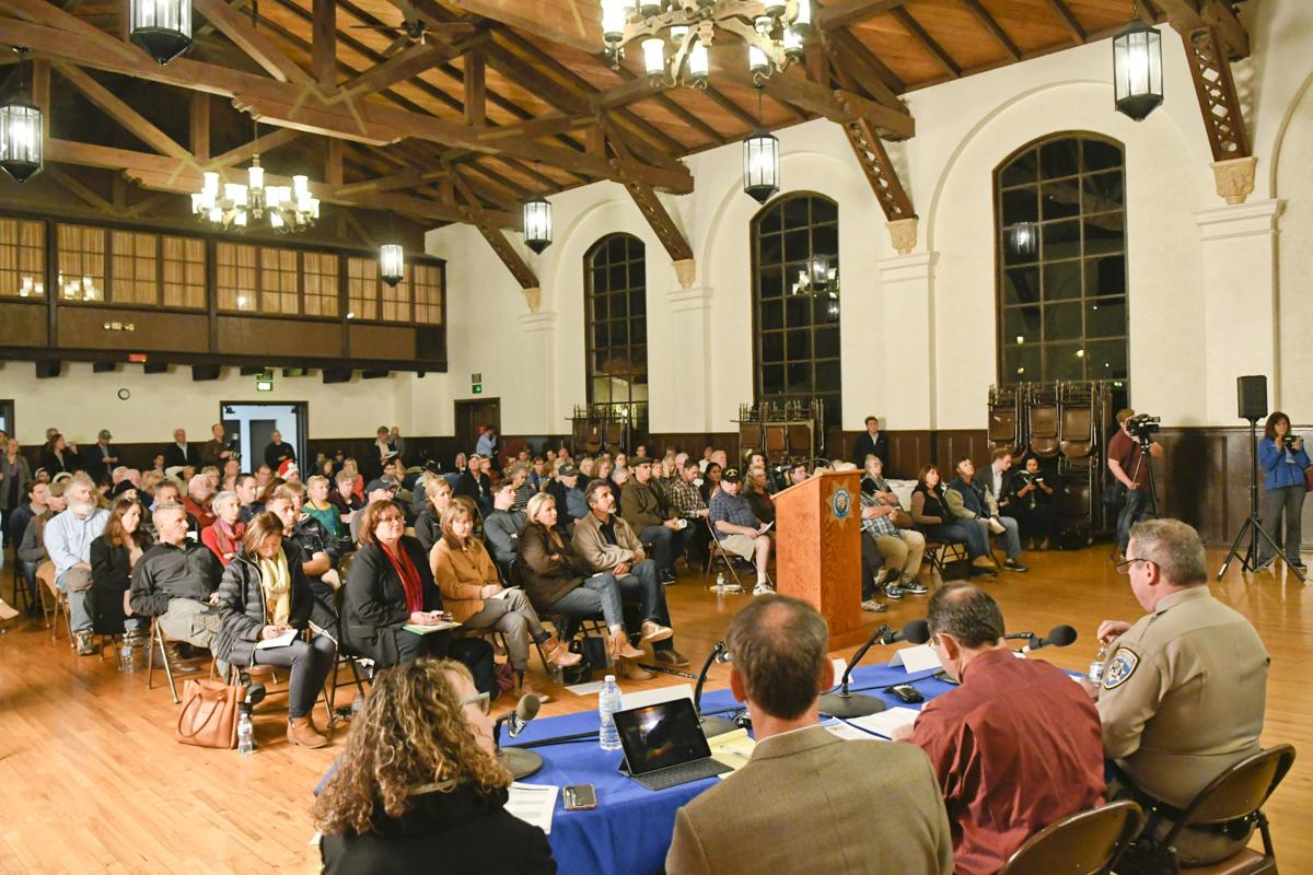 Photos: Highway 154 safety meeting in Solvang draws large crowd