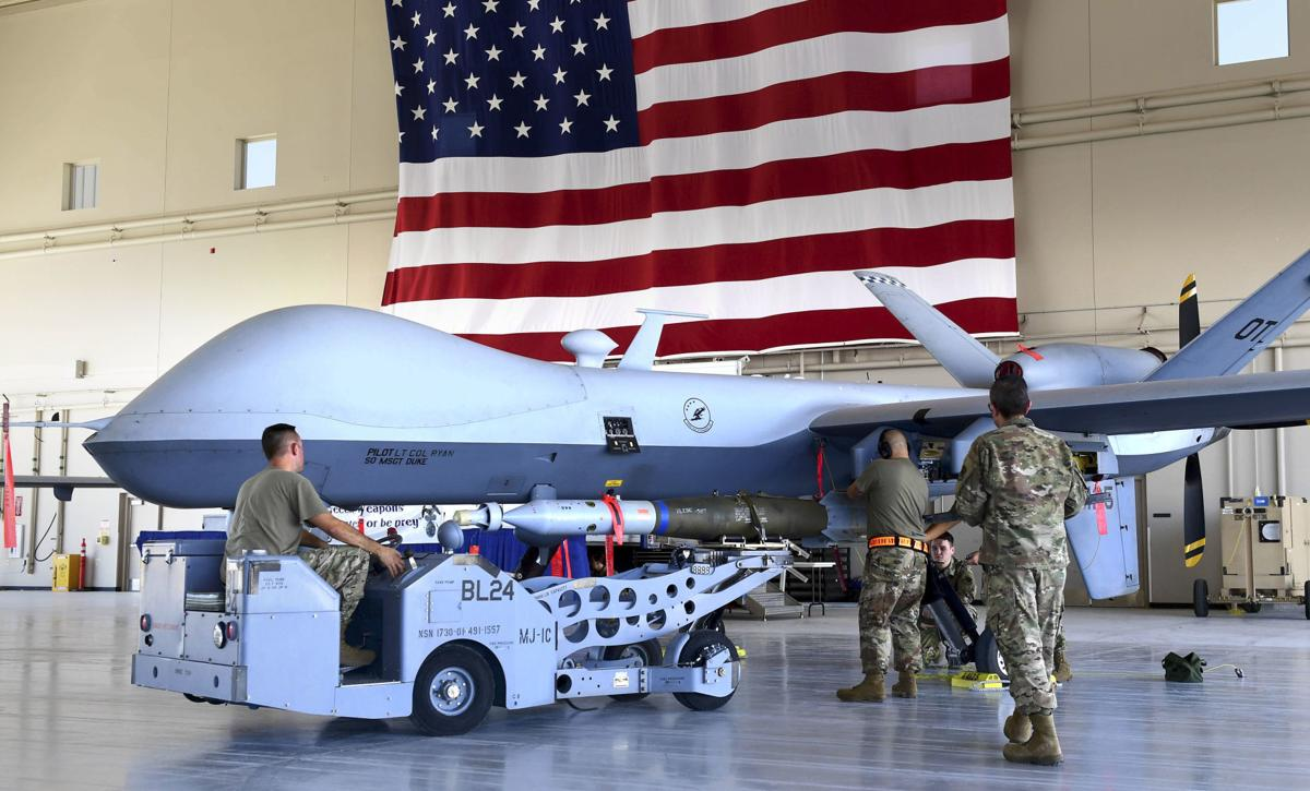 MQ-9 Reaper at Creech AFB