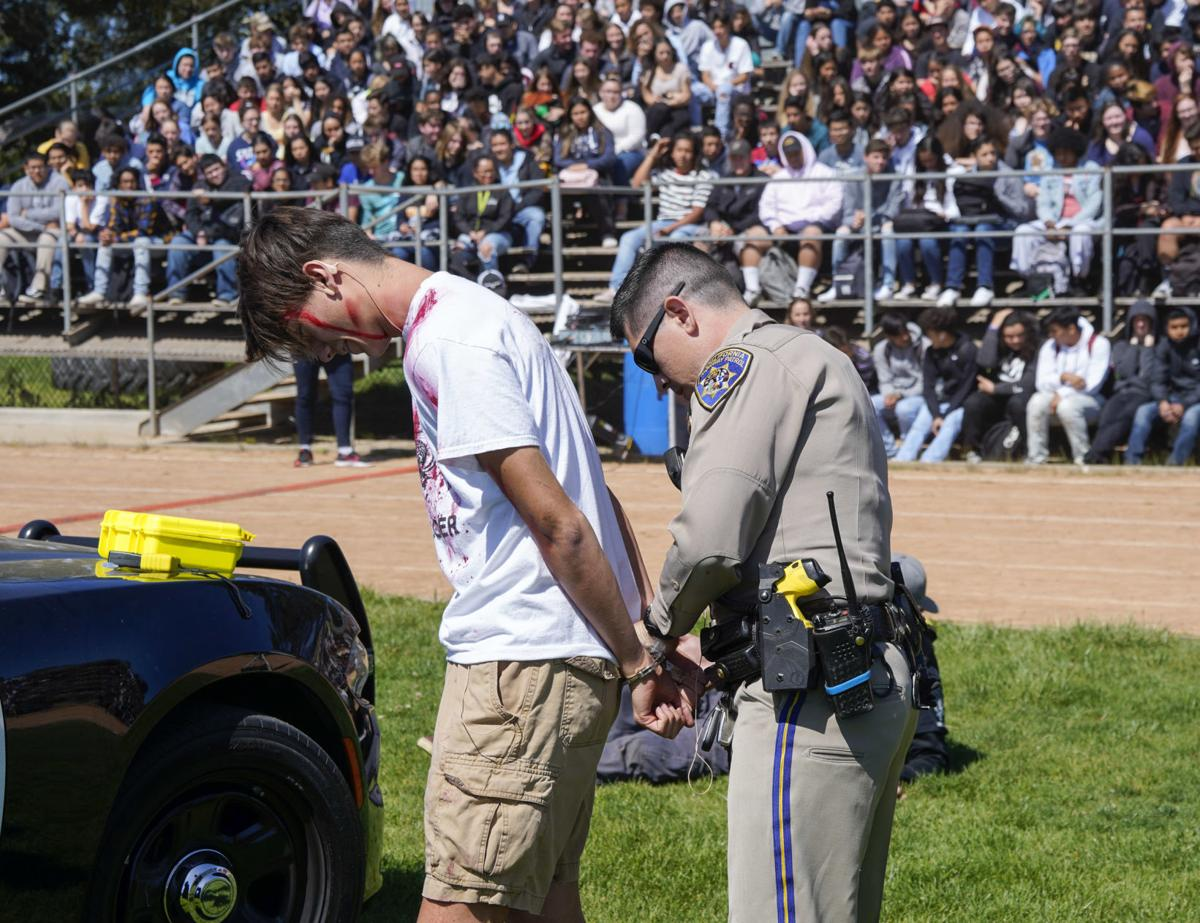 Every 15 Minutes': Mock crash scene highlights DUI dangers for