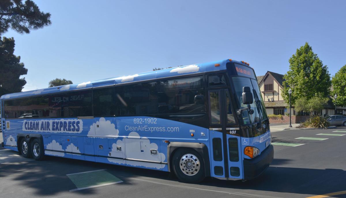 Clean Air Express bus