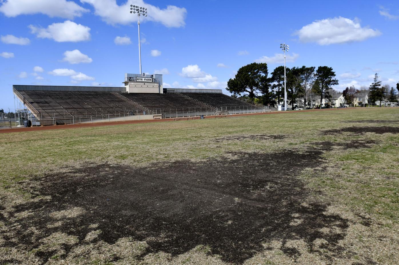 Current field at Huyck Stadium (copy)