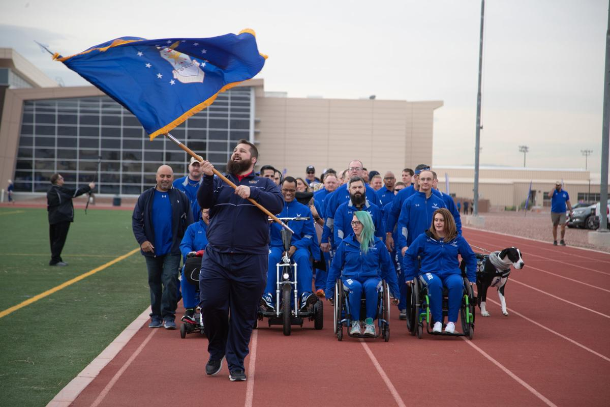 Air Force Wounded Warrior Trials 2019