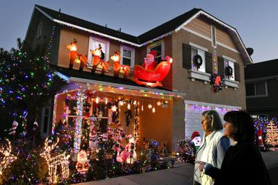 Photos: Lompoc Holiday Decoration Contest lights up the season