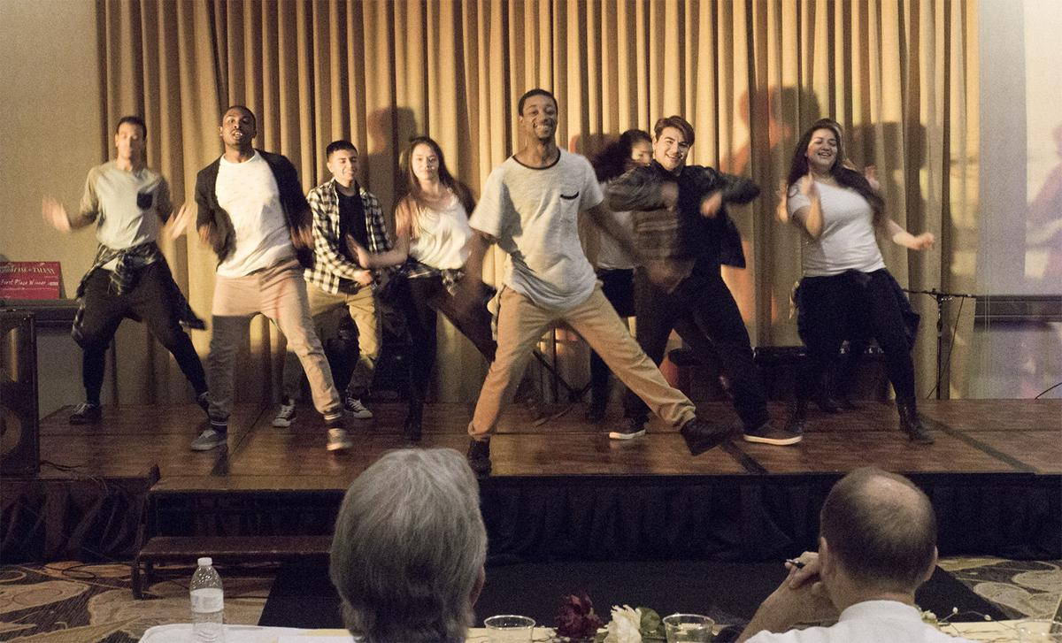 Daydreamers dance group competes during Lezlie's Showcase of Talent