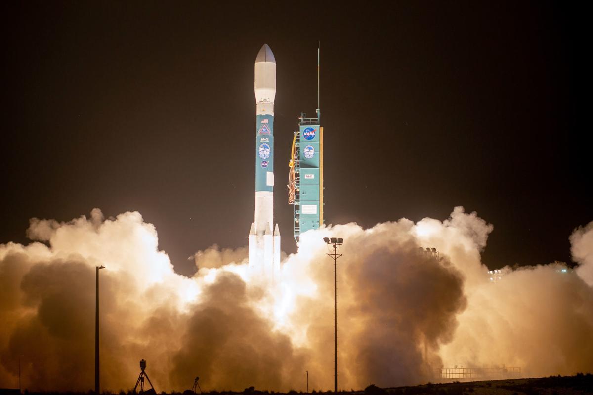 Final Delta II Rocket Soars From Vandenberg Air Force Base