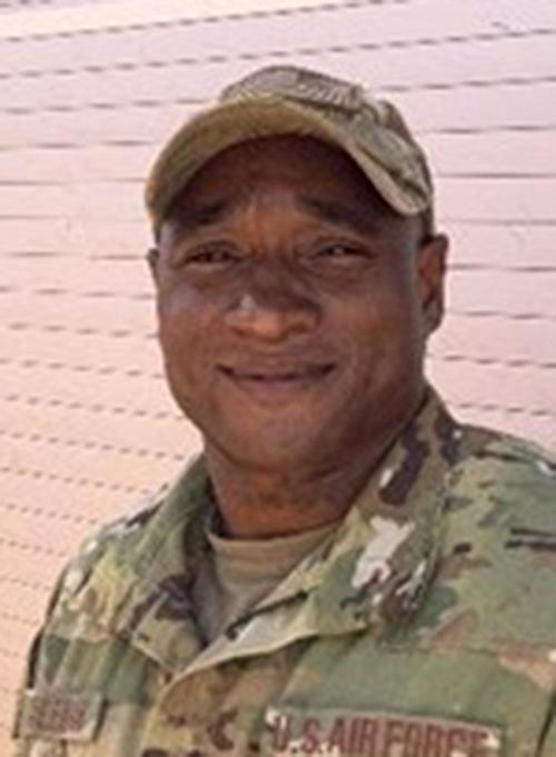 Deployed Fire Chief SMSgt. Corey Coleman