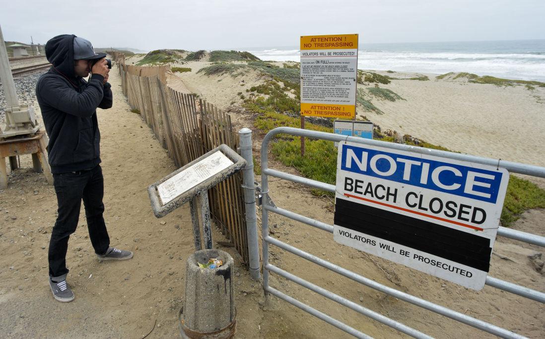 Surf Beach closed