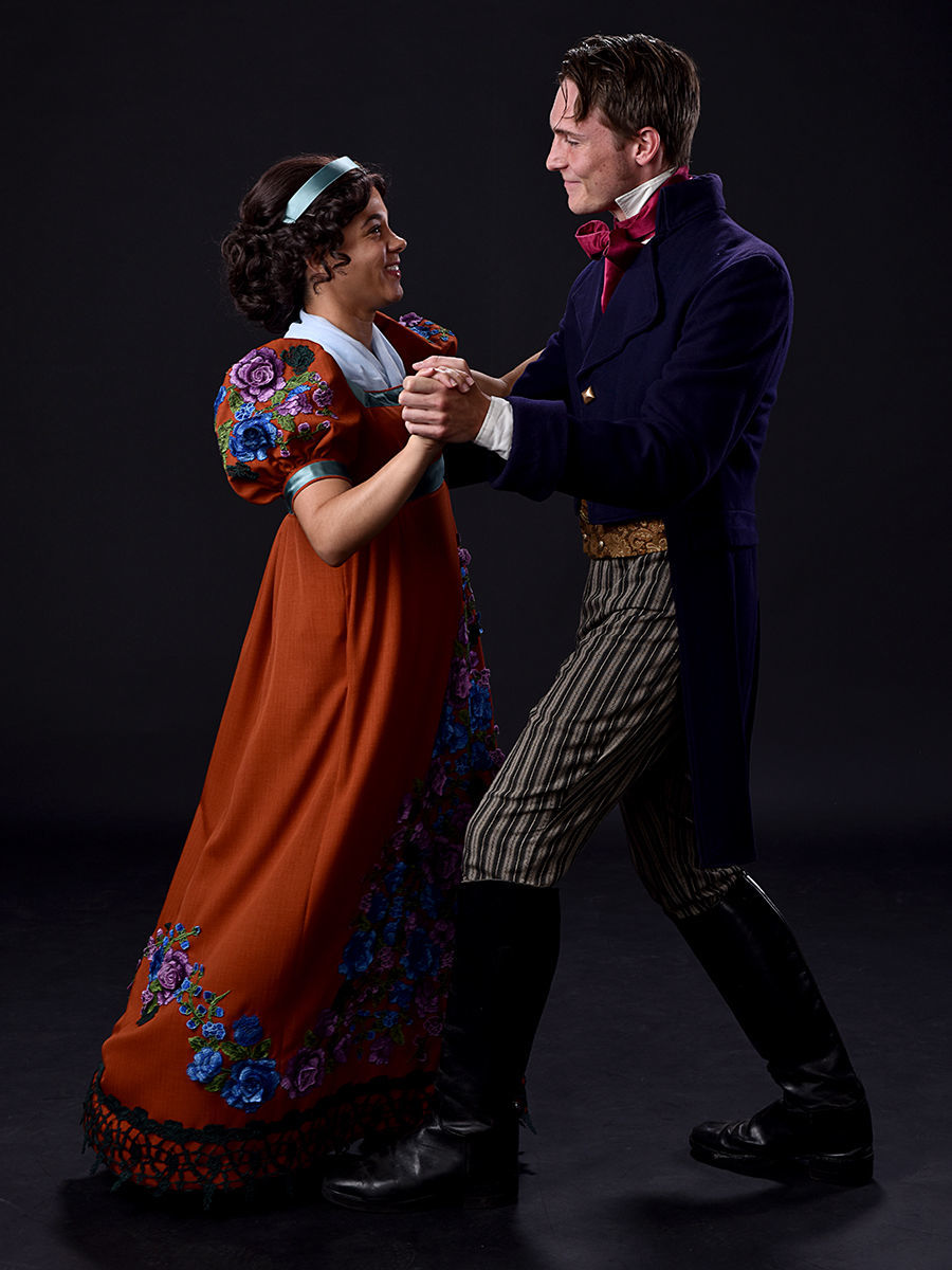 Arcadia: Grace Theobald as Thomasina Coverly Luke Myers as Septimus Hodge
