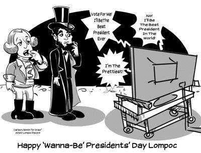 Editorial Cartoon: Presidents' Day