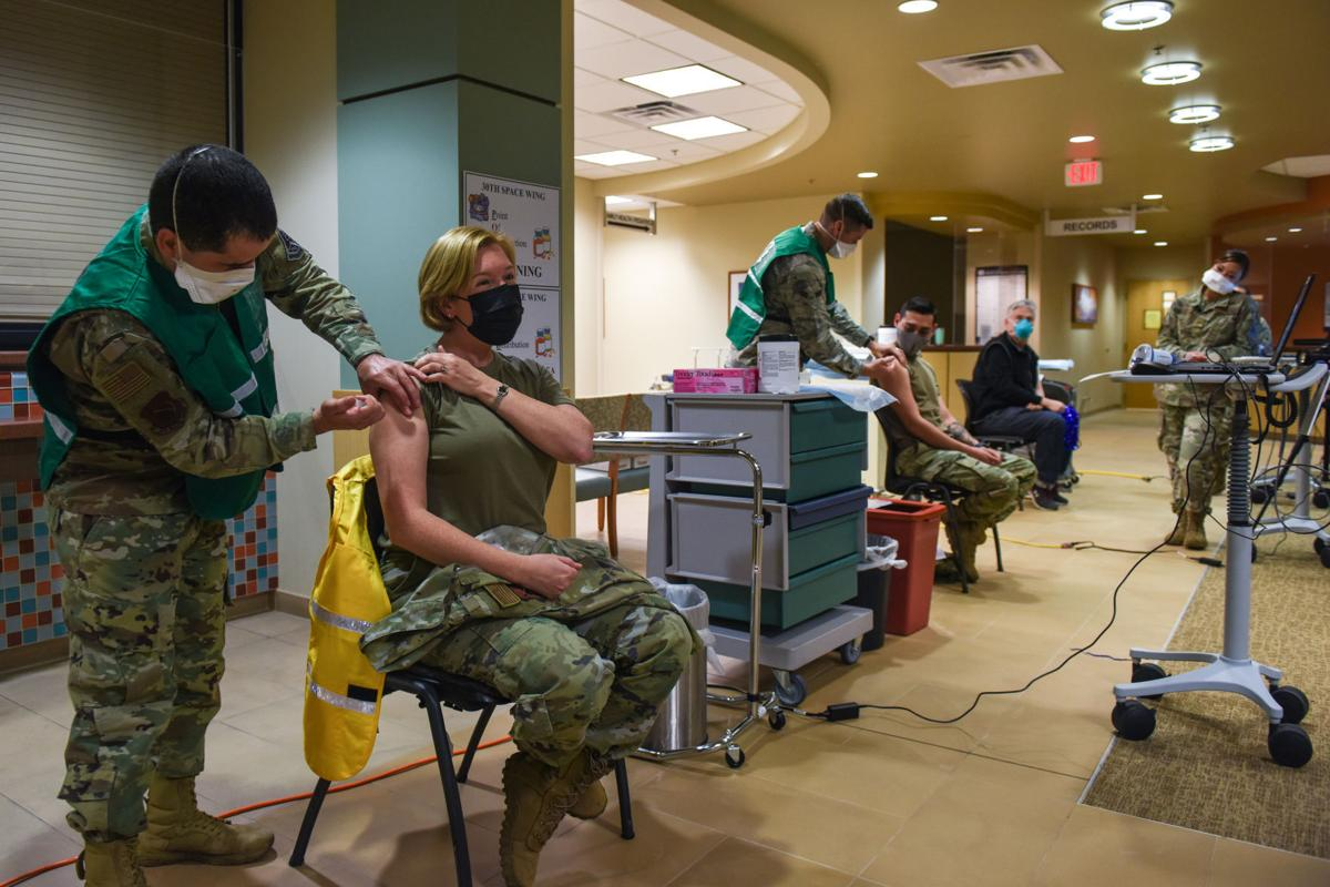 Initial COVID-19 vaccinations underway at Vandenberg AFB