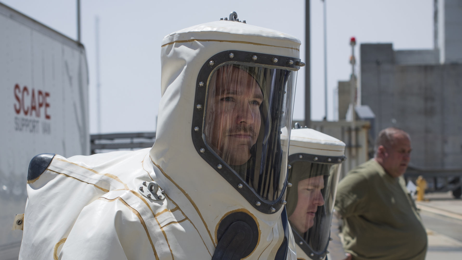 Airmen suit up for space mission readiness