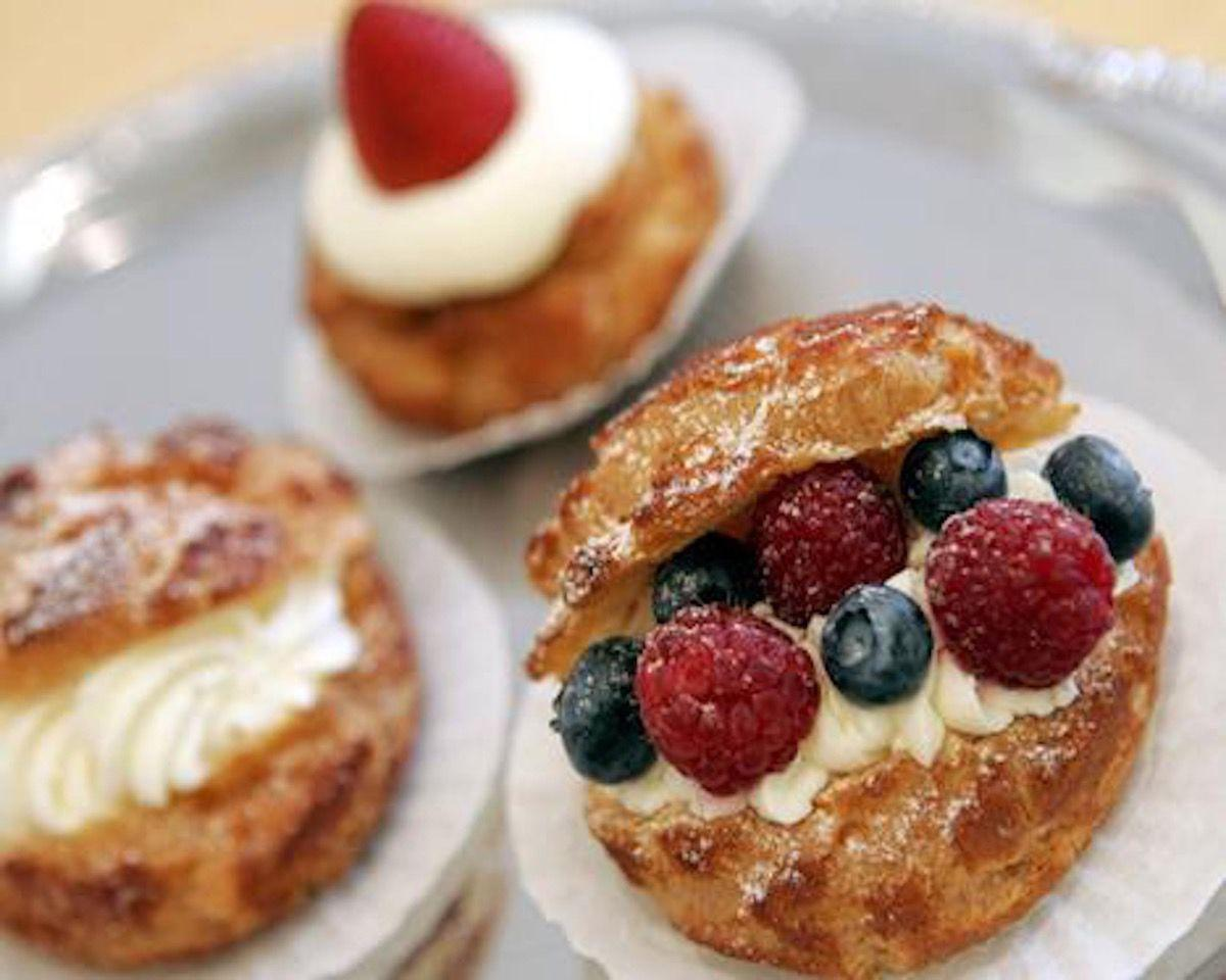 Try the pastries, butter cookies or something with a twist.