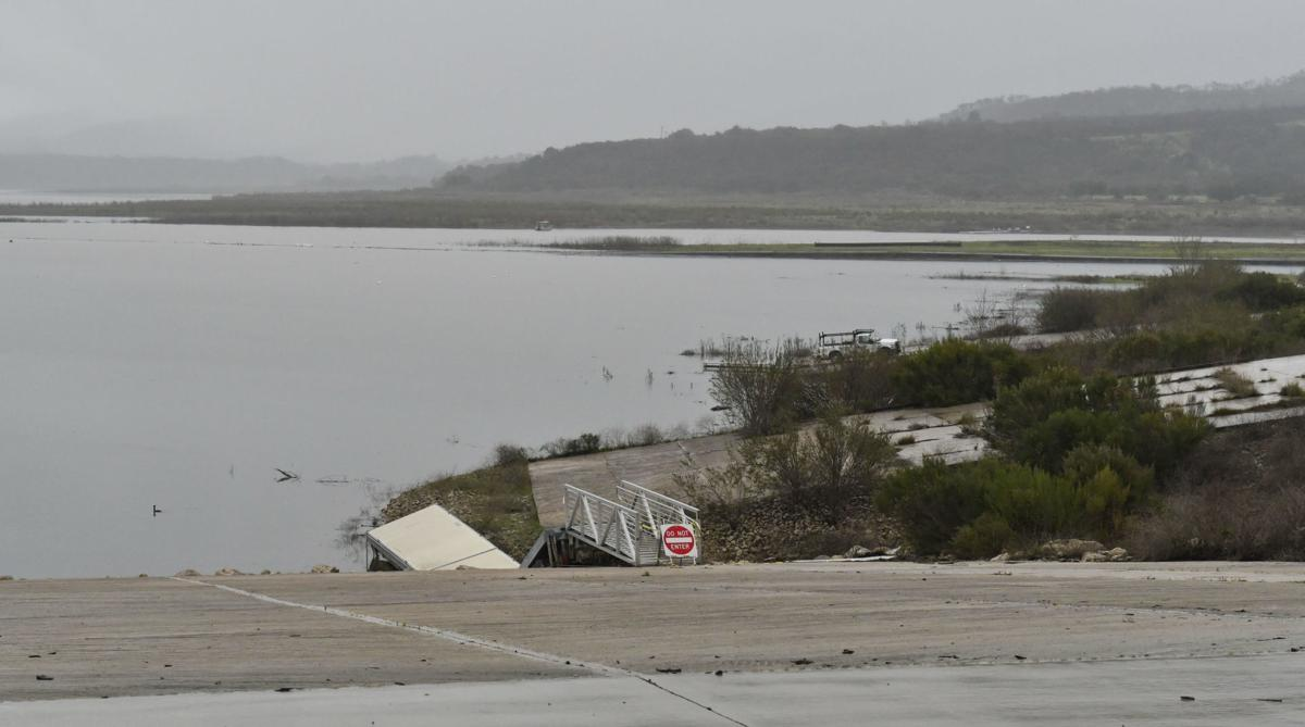 Photos: Cachuma Lake over half full after recent storms, above average rainfall for the season