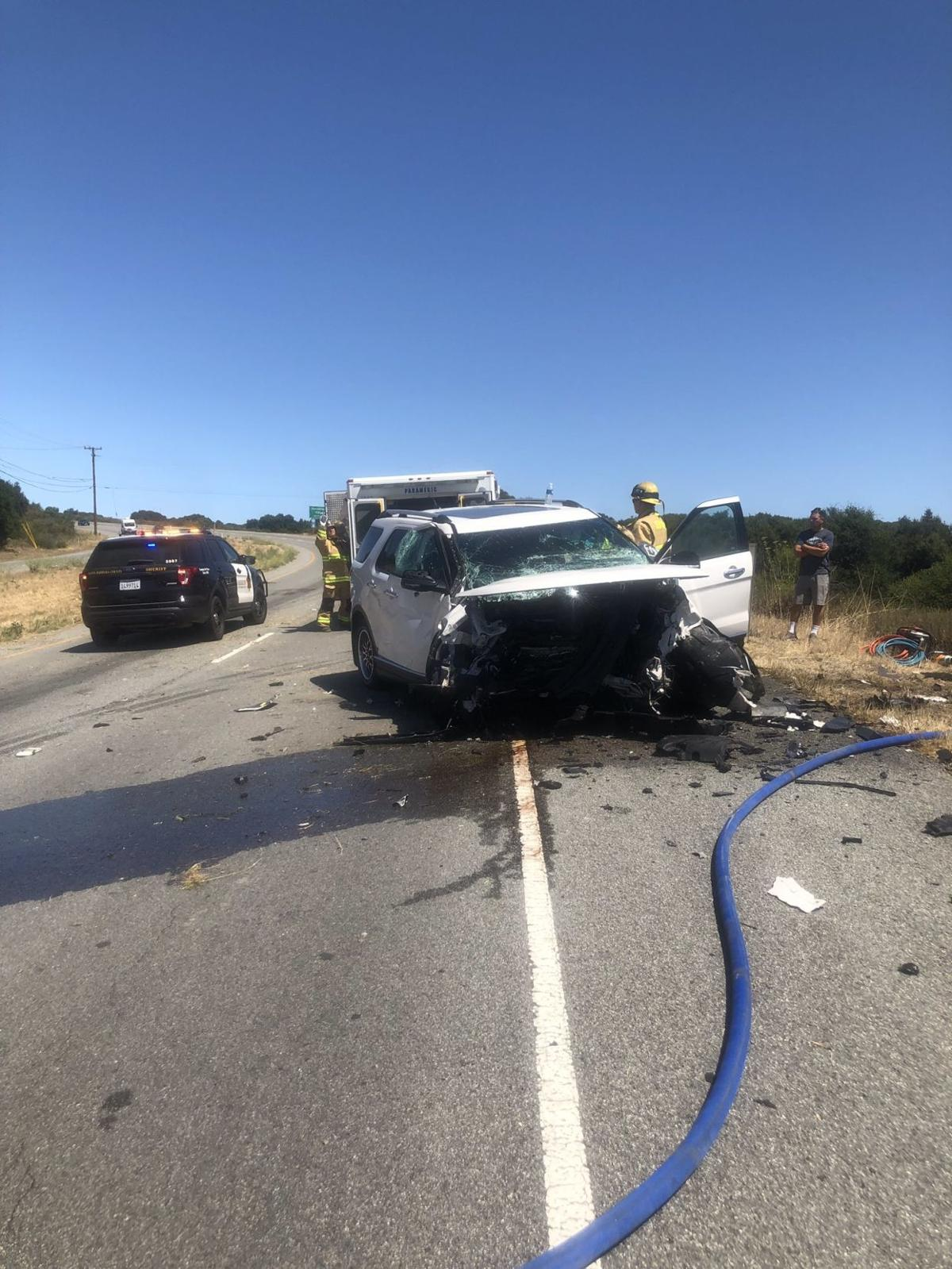 Lompoc resident dies in head-on crash on Highway 1 in