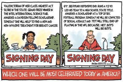 Cartoon: Signing Day