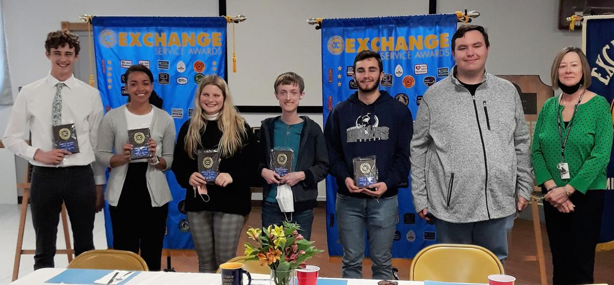 MCHS Students of the Month 3 with Linda M.jpg