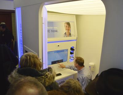 Kiosks provide employees with online access to health care