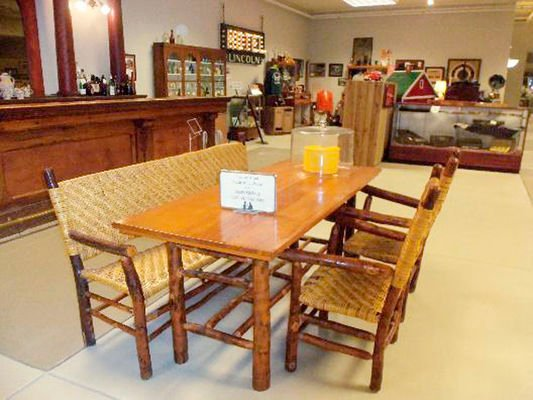 Early La Porte County industry: Rustic Hickory Furniture Company