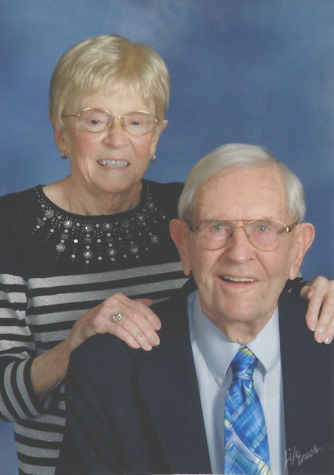 Harry and Carolee Gardner 75th Wedding Anniversary