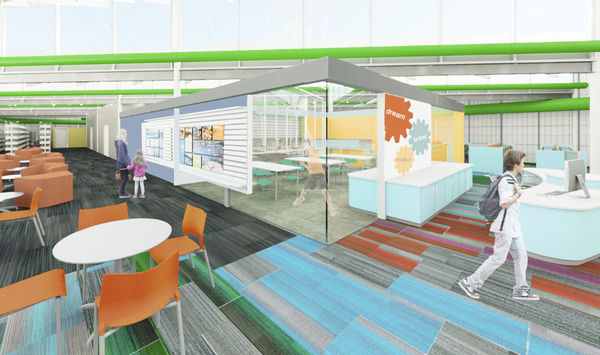 $1.6 million renovation planned for MC Library