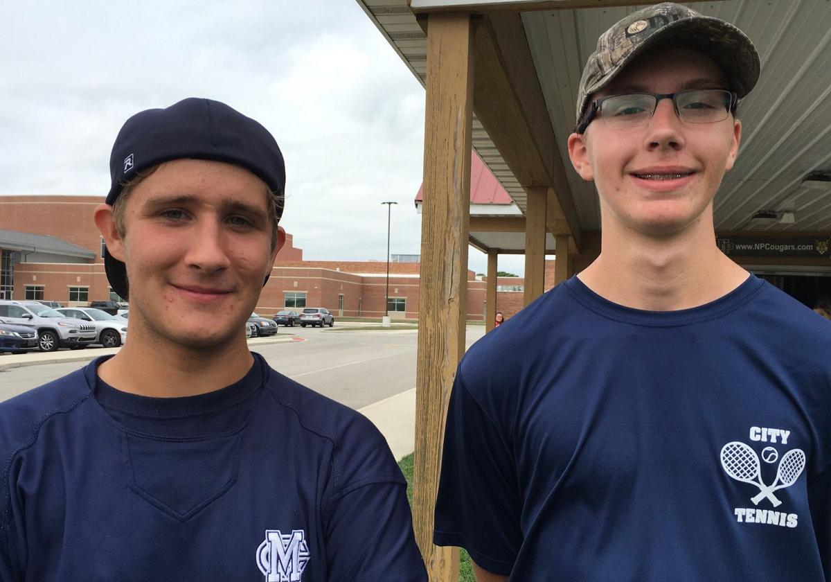 Kyle Yackus and Zach Sissons