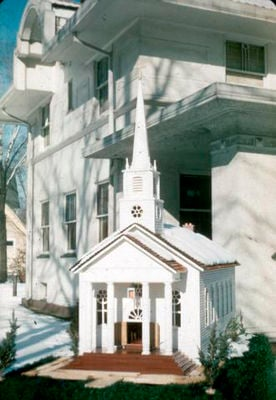 Peter 'Scotty' Taylor and the Giese Chapel