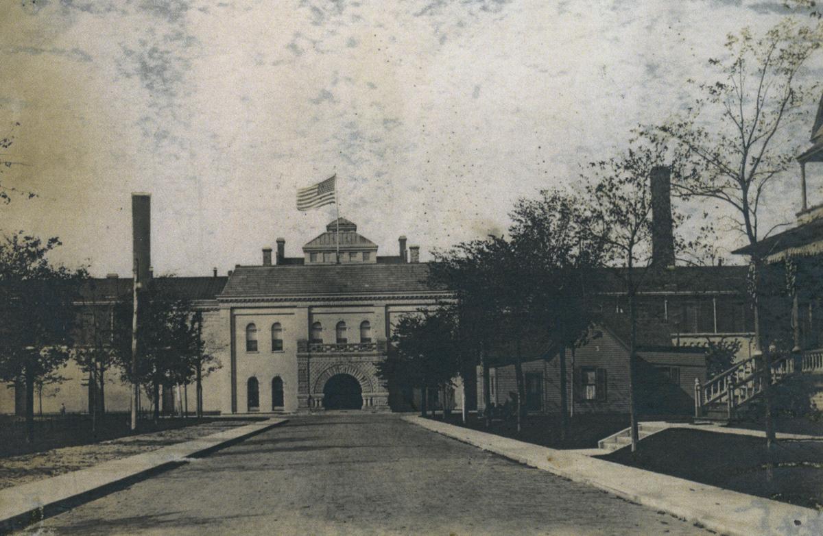 state prison exterior