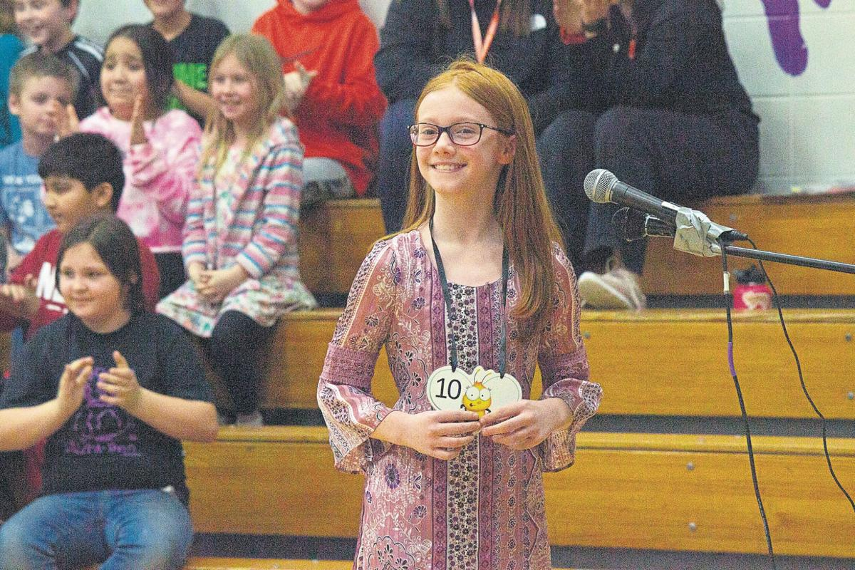 Riley's top spellers compete
