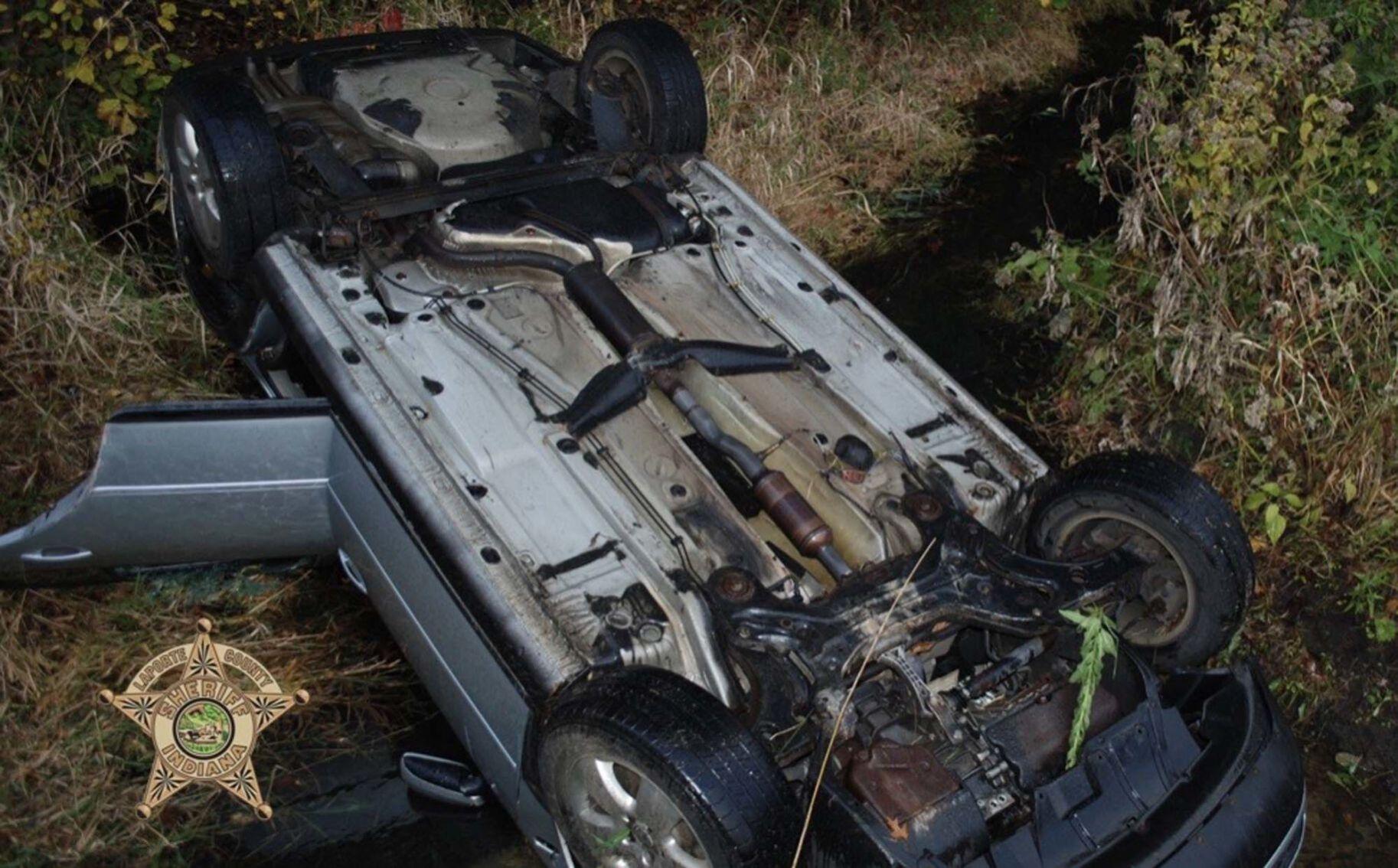 Michigan City man killed in rollover crash in Springfield Township