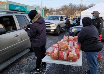 Advancing Christ's Kingdom to give away hams, gift baskets