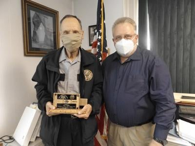 ISP employee honored for 50 years of service