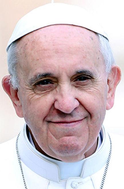 Pope Francis mug