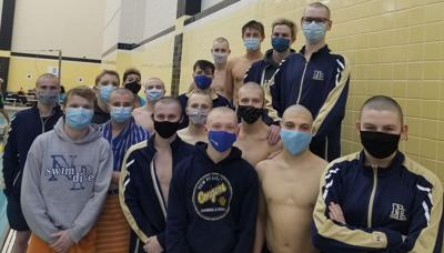 New Prairie boys swim